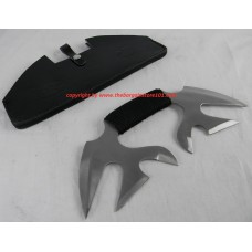 6 Bladed Full Tang Valdris Designed & Moster Fantasy Bowie Hunting Camping Combat Tactical Skinner Knife